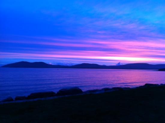 วอเตอร์วิลล์, ไอร์แลนด์: Waterville sunset