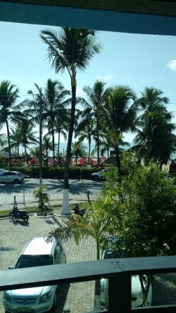 Sueds Plaza Hotel Geral: Vista do quarto do hotel
