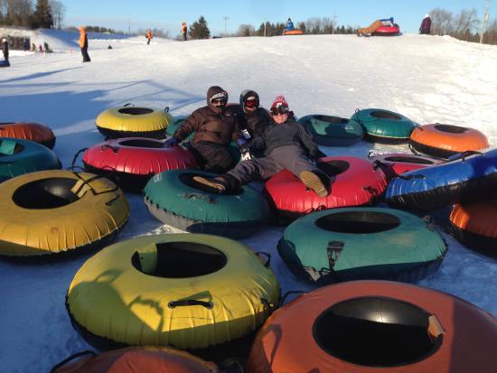 Sunburst Ski Area Tubing