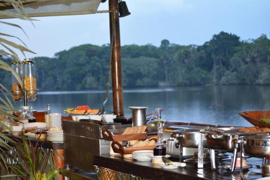 Dining Area Overlooking Amazon Lake Picture Of La Selva