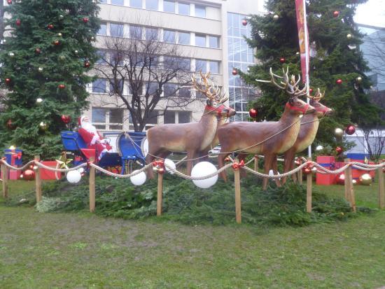 Kilchberg, Suiza: Decoração de Natal
