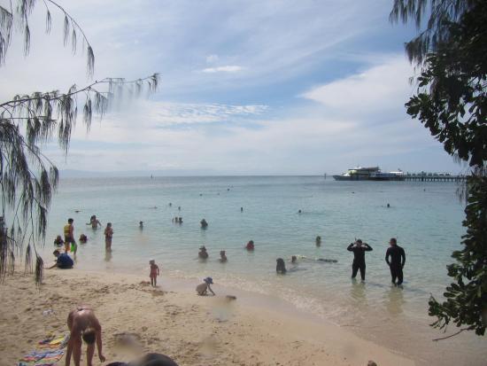 Зеленый остров, Австралия: Beach