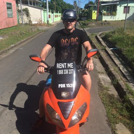 Canaan, Tobago: A happy customer