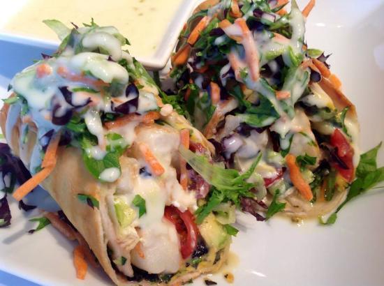 Clemmons, Северная Каролина: Shrimp Tacos
