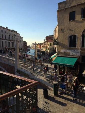 B&B La Palazzina Veneziana: The view from our room