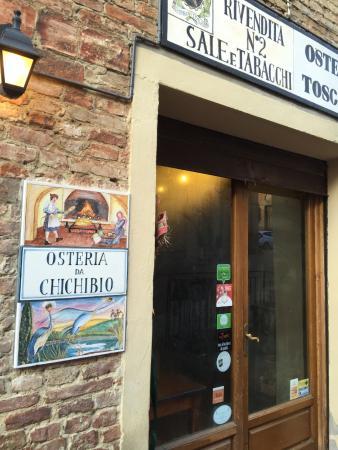 Certaldo, Italia: Ingresso del ristorante