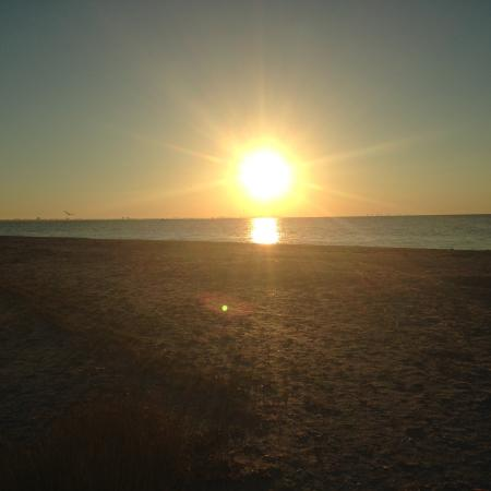 Sunrise at Sanibel Inn's Beach