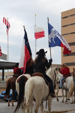 Benbrook Stables participation in Fort Worth Stock Show Parade