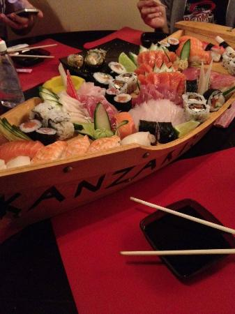 Kanzaki Sushibar : Barca maravilhosa
