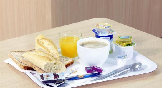 La Couronne, Prancis: Petit déjeuner à seulement 5€