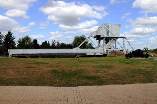 Ranville, Frankrijk: Il Pegasus Bridge originale, quello del D-day