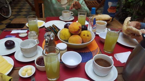 Hostal Rio Amazonas: Desayuno