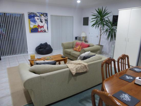 North Shore City, Yeni Zelanda: Kitchen/Lounge/Diner