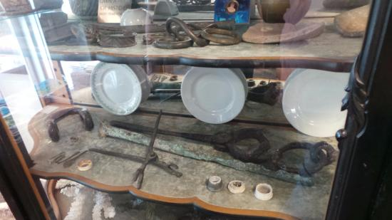 Key West Treasure Chest: Interesting variety of historical pieces on display