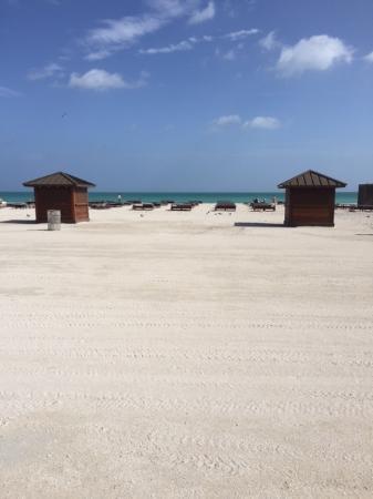 The Setai: Closed Setai beach on a beautiful Sunday