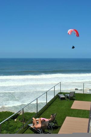 Wilderness, Zuid-Afrika: Paraglider