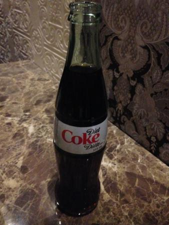 Bato Thai: Diet Coke (in a glass bottle)