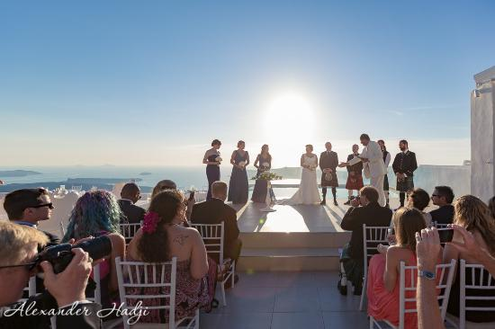 La Maltese Estate Villa Wedding Ceremony