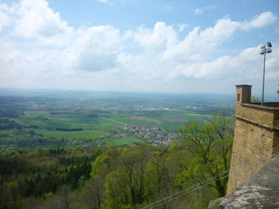 Castle of Hohenzollern: Vue/view