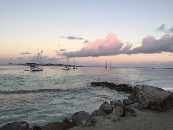 Oyster Pond, St. Maarten: dusk