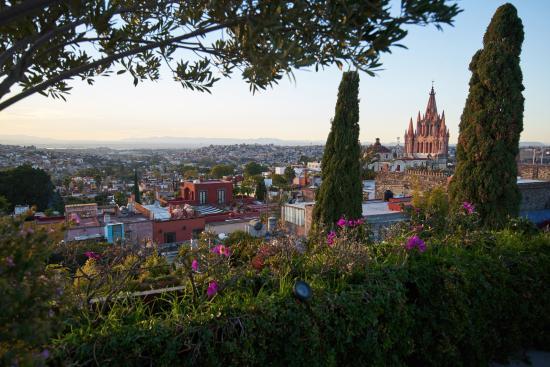 Belmond Casa de Sierra Nevada: View from private rooftop terrace