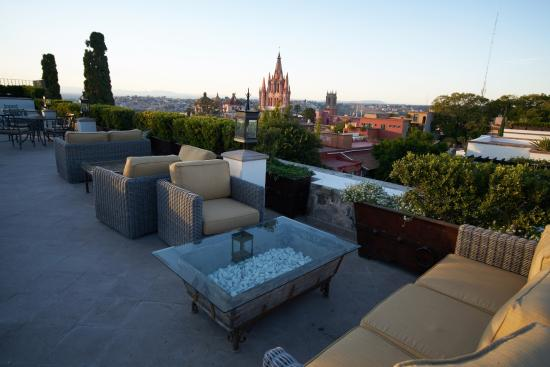 Belmond Casa de Sierra Nevada: View from private rooftop terrace