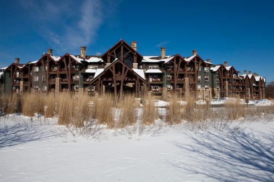Hamburg, Nueva Jersey: Winter at Grand Cascades Lodge