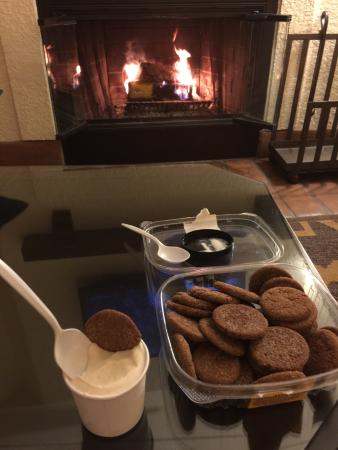 Glen Ellen, Californie : Maple Bourbon Ice Cream w/ Store Bought Ginger Cookies