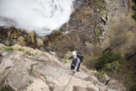 Klettersteig Tirol : Tirol rafting klettersteig bild von sautens