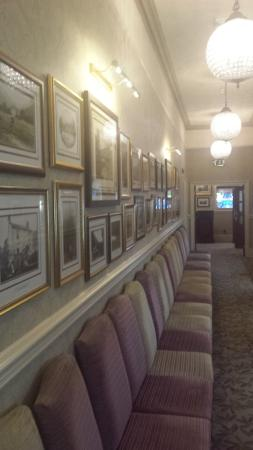 history in the corridor leading to function rooms picture of inn rh tripadvisor co za