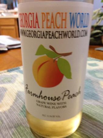 Townsend, Gürcistan: Peach Wine