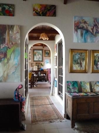 Saint George Parish, Antigua: Gilly Gobinet's Art Gallery at Fitches Creek, Antigua