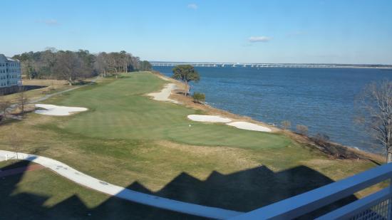 bay view from rm 6408 picture of hyatt regency chesapeake bay rh tripadvisor com