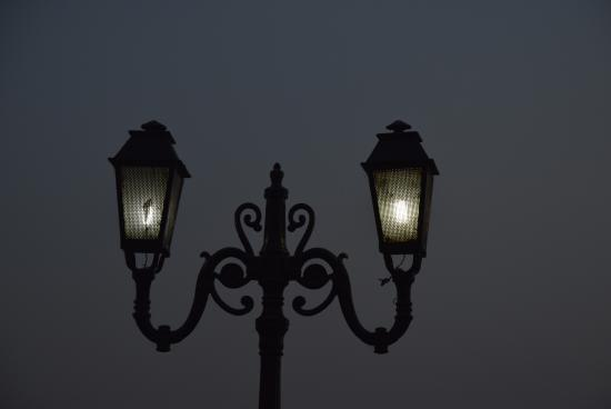 Futala Lake: Lighted Lamps