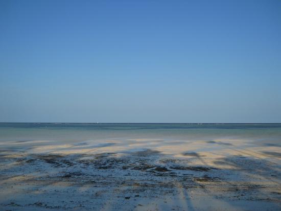 Diamonds Mapenzi Beach Club: bassa marea