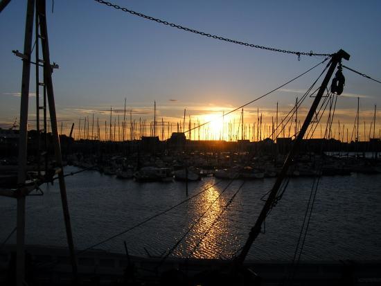 Dublin Bay: tramonto