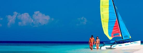 Tavernier, FL: Tiki Water Sports rents and sells Hobie sailboats.