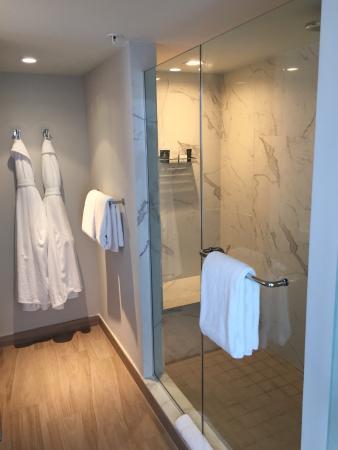 bathroom with large shower picture of hyatt centric south beach rh tripadvisor ca