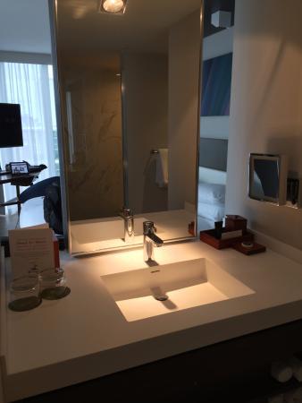 open concept bathroom picture of hyatt centric south beach miami rh tripadvisor com