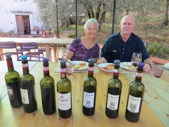 Greve in Chianti, Ιταλία: Montefiorelle Winery- Tasting