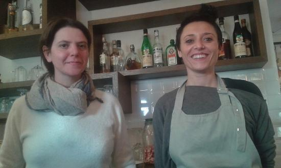 Candeli, Italia: Sara (a sx) e Irene