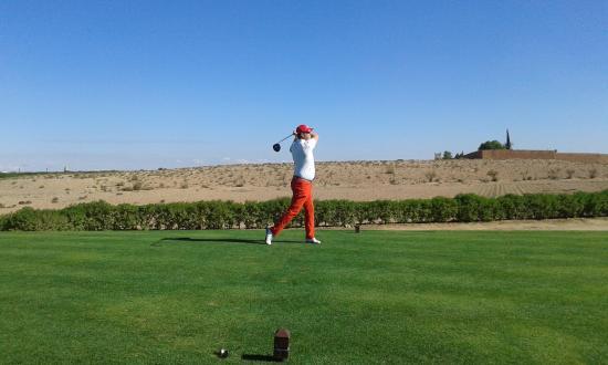 Assoufid Golf Club: Départ d'une belle journée Nov. 2015