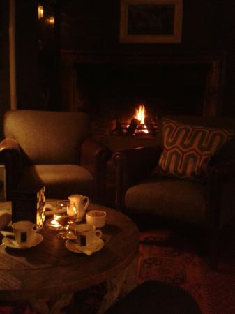 Nothing better on a cold, winter evening -  Bay Tree Hotel,  Burford