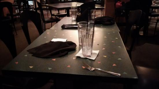 our table was surrounded by uncleared messy tables picture of rh tripadvisor co za
