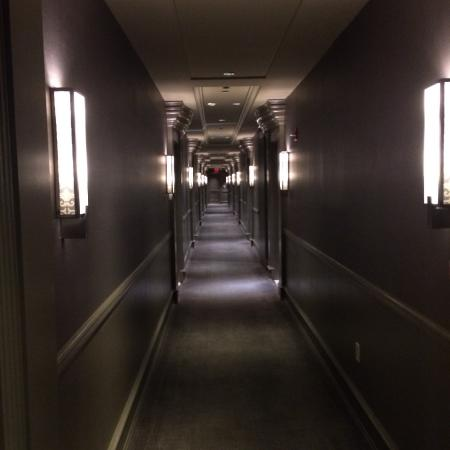 Carlton Hotel, Autograph Collection: dark hallway