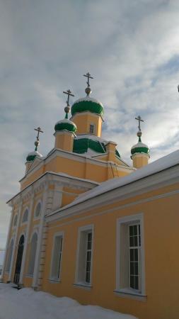 Lodeynoye Pole, Russland: Церковь Введено-Оятского монастыря