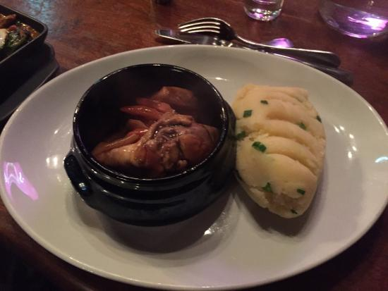Castlemartyr, Irlandia: Chicken casserole