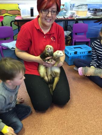Monkey Bizzness: Linda Moore from Party Pets is with us every Wednesday from 11.30am!