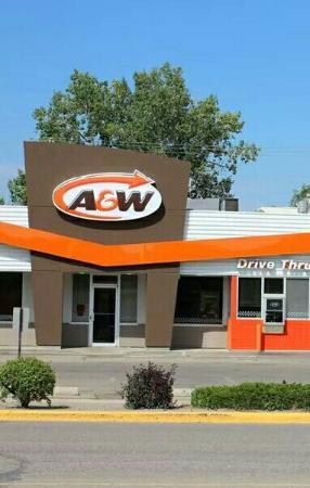 Estevan, Kanada: A&W Restaurant