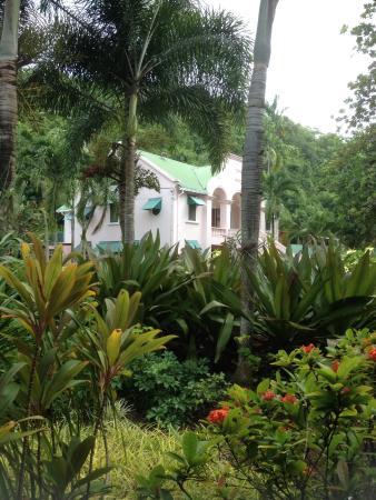 La Sagesse Hotel, Restaurant & Beach Bar: The main house